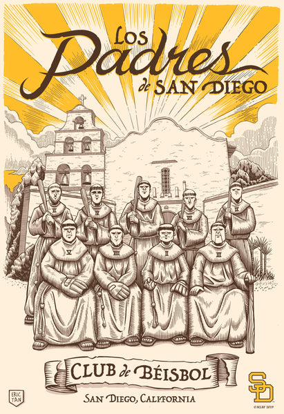 "Eric Tan ""The O.G.'s (A Tribute to the Padres)"" Print"