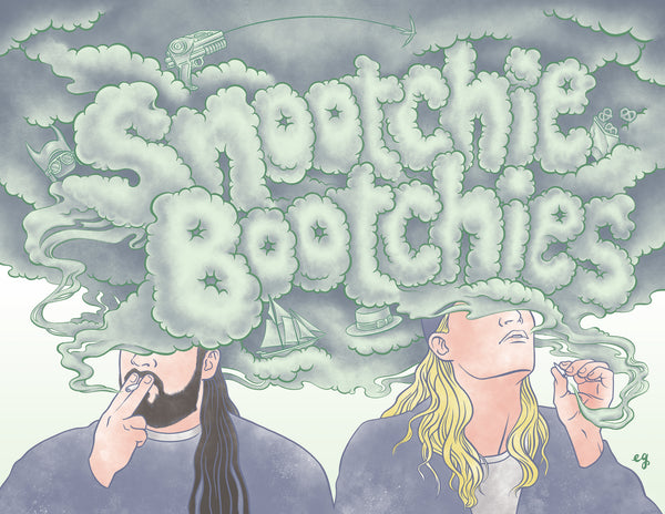 "Erin Gallagher ""Snootchie Bootchies"" Print"
