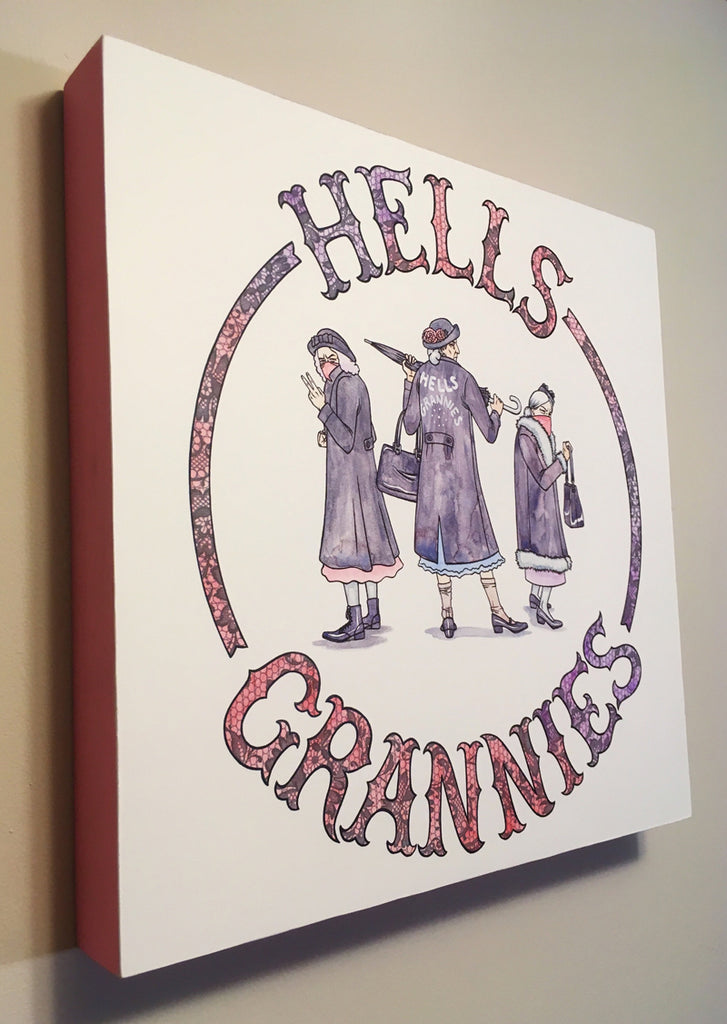 "Erin Gallagher ""Hell's Grannies"""