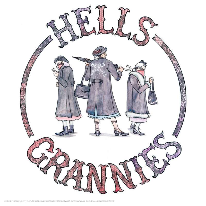 "Erin Gallagher ""Hell's Grannies"" Print"