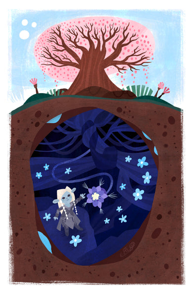 "Evan Troutt ""Sanctuary Tree"" Print"