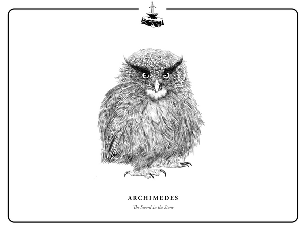 "Evan Yarbrough ""Archimedes"" Print"