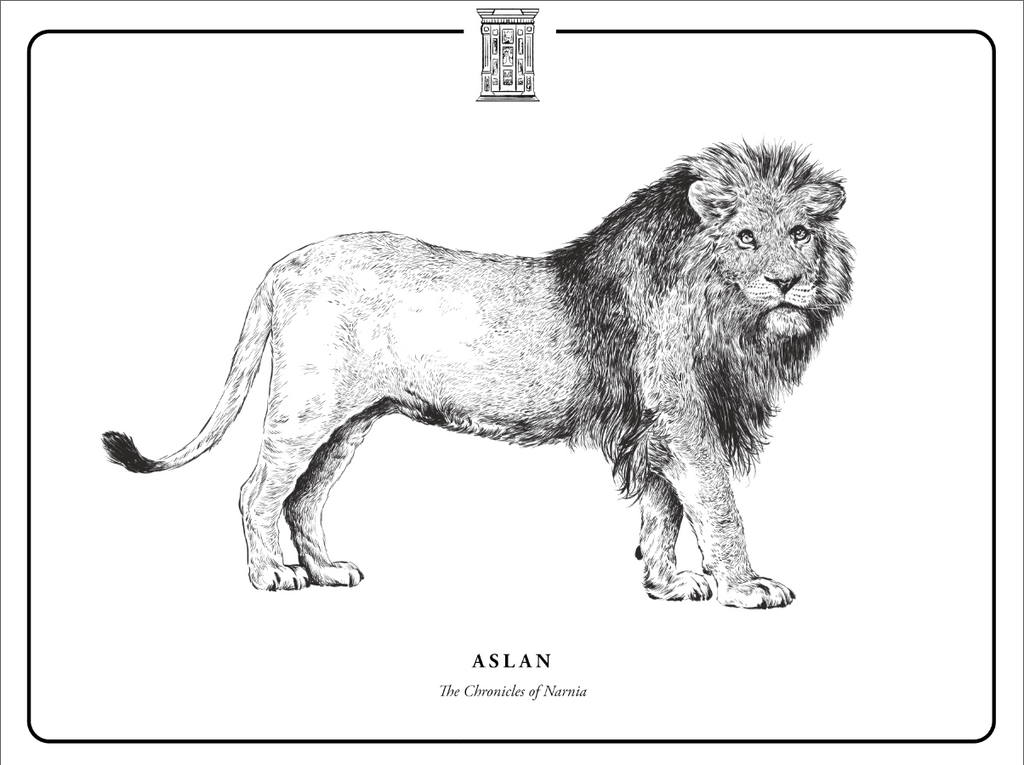 "Evan Yarbrough ""Aslan"" Print"