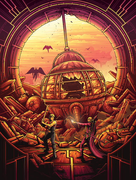 "Dan Mumford ""My life is not for any earthling to give or take."" Print"