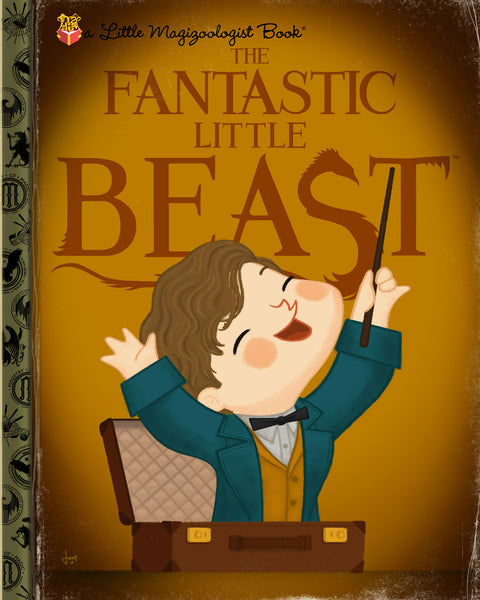 "Joey Spiotto ""The Fantastic Little Beast"" Print"