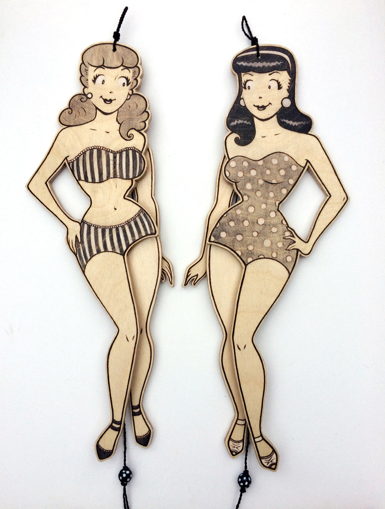 "Fay Helfer ""Betty & Veronica (B&W)"" Set"
