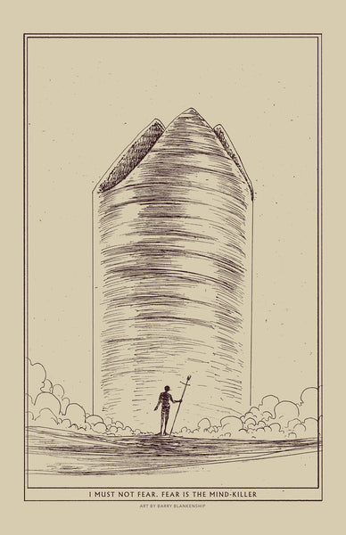 "Barry Blankenship ""Dune"" Print Set"