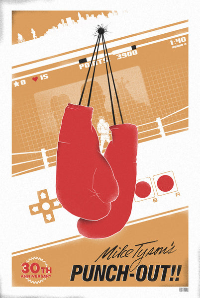"Felix Tindall ""Punch-Out Celebration"" Print"