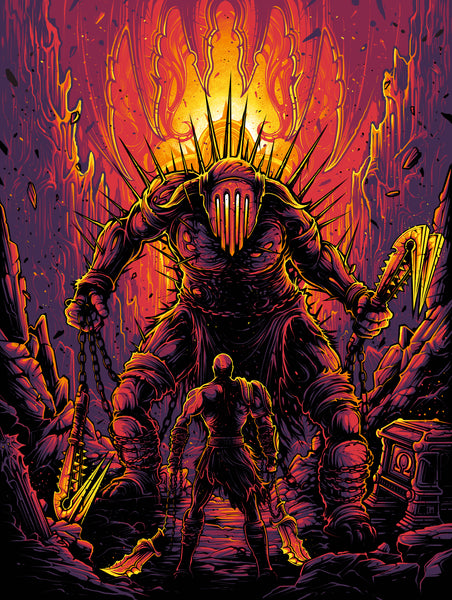"Dan Mumford ""I will see you suffer as I have suffered."" Print"
