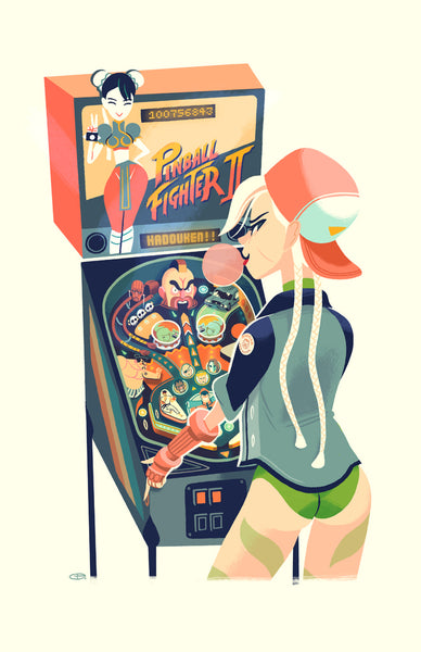 "Glen Brogan ""Pinball Fighter II"""
