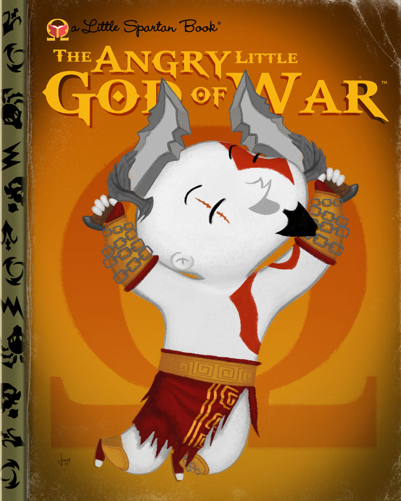"Joey Spiotto ""The Angry Little God Of War"" Print"