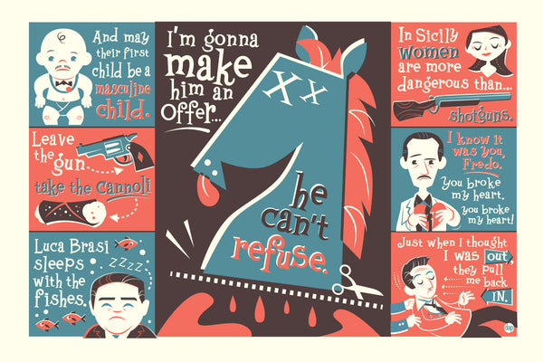 "Dave Perillo ""Make Him an Offer"" Print"