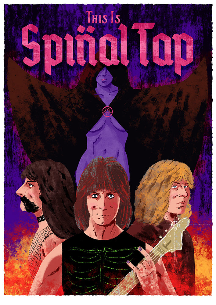 "Graham Corcoran ""This Is Spinal Tap"" Print"