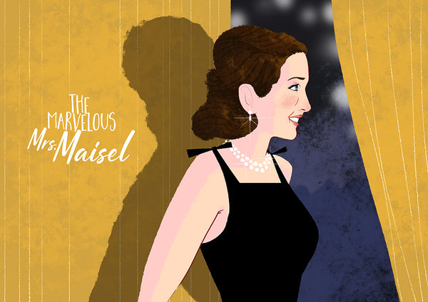 "Graham Corcoran ""The Marvelous Mrs. Maisel"" Print"