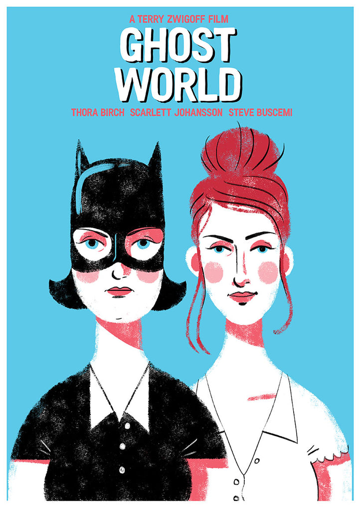 "Graham Corcoran ""Ghost World"" Print"