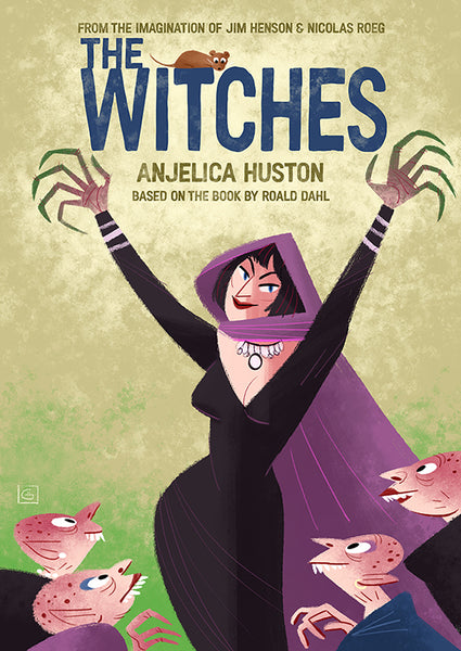 "Graham Corcoran ""The Witches"" Print"