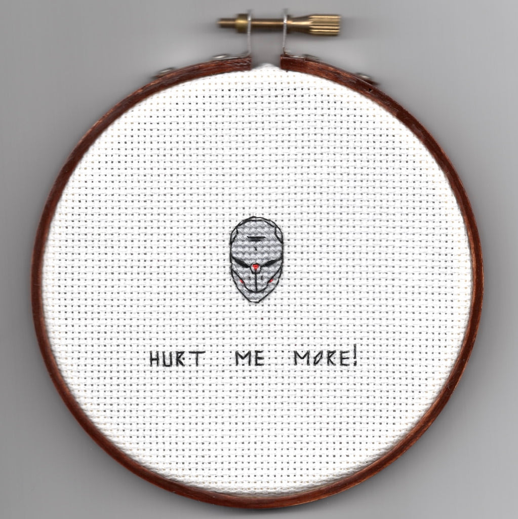"Oh Sew Nerdy ""Hurt me more!"""