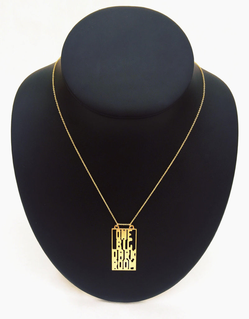 "Half Shut ""One Big Dark Room"" Necklace"
