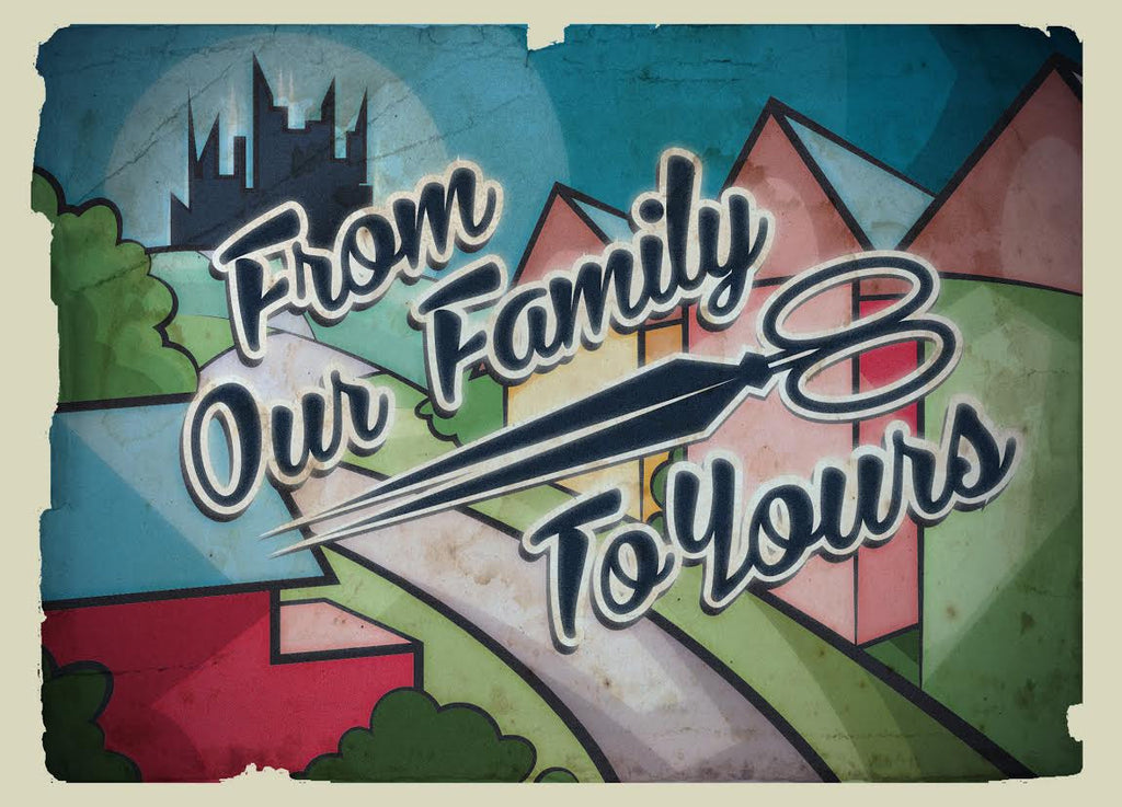 "Hannah Webb ""Our Family to Yours"" Postcard Print Set"