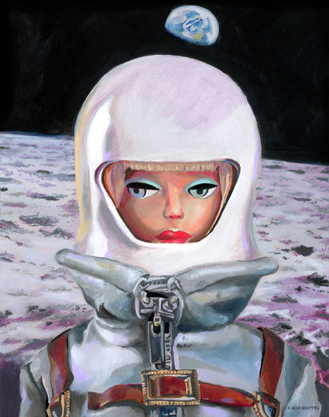 "Heather Perry ""Astronaut"" Print"