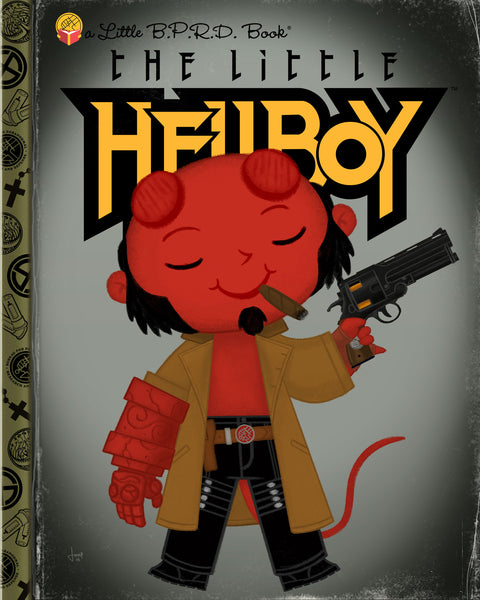"Joey Spiotto ""The Little Hellboy"" Print"