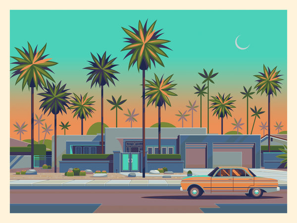 "George Townley ""House on Caliente"" Print"