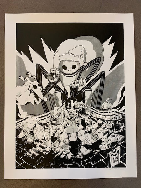 "Joon Alvarado ""Nightmare Before Christmas"" Print"