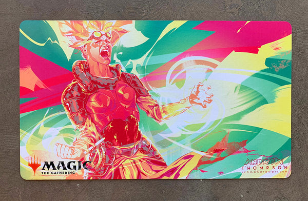 "Andrew Thompson ""Nalaar Unleashed"" MTG Playmat"