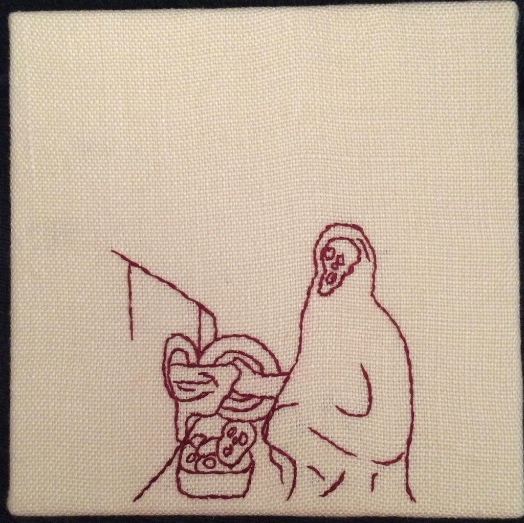 "Ellen Schinderman ""Ghostface Domestic: Laundry"""