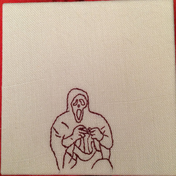 "Ellen Schinderman ""Ghostface Domestic: Finger Crochet"""