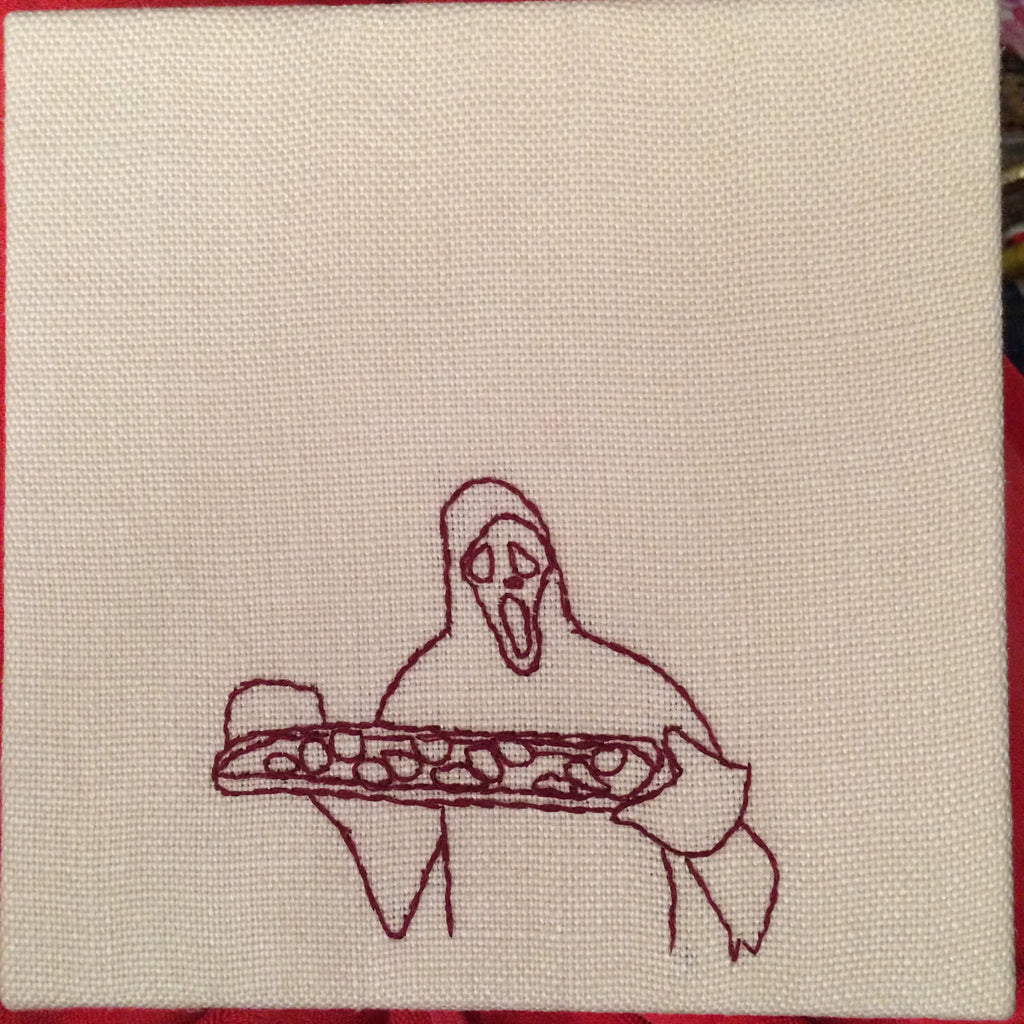 "Ellen Schinderman ""Ghostface Domestic: Baking"""