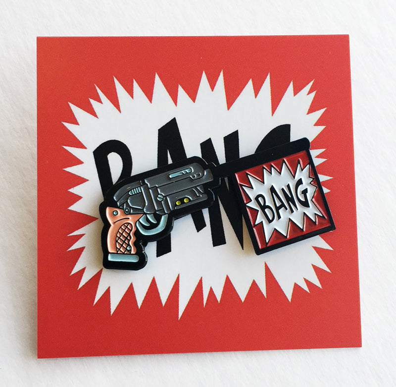 "Matt Ritchie ""Bang"" Pin"