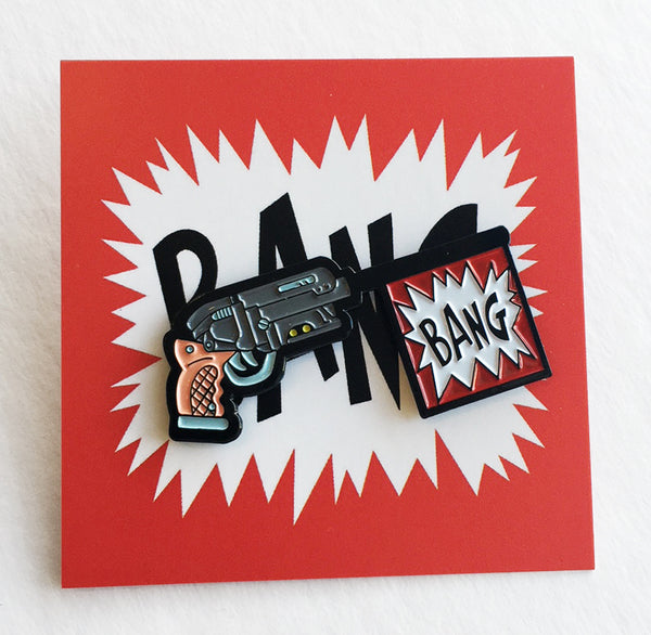 ".Matt Ritchie ""Bang"" Pin"