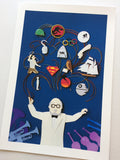 "Jackie Huang ""Maestro of Movie Music"" Print"