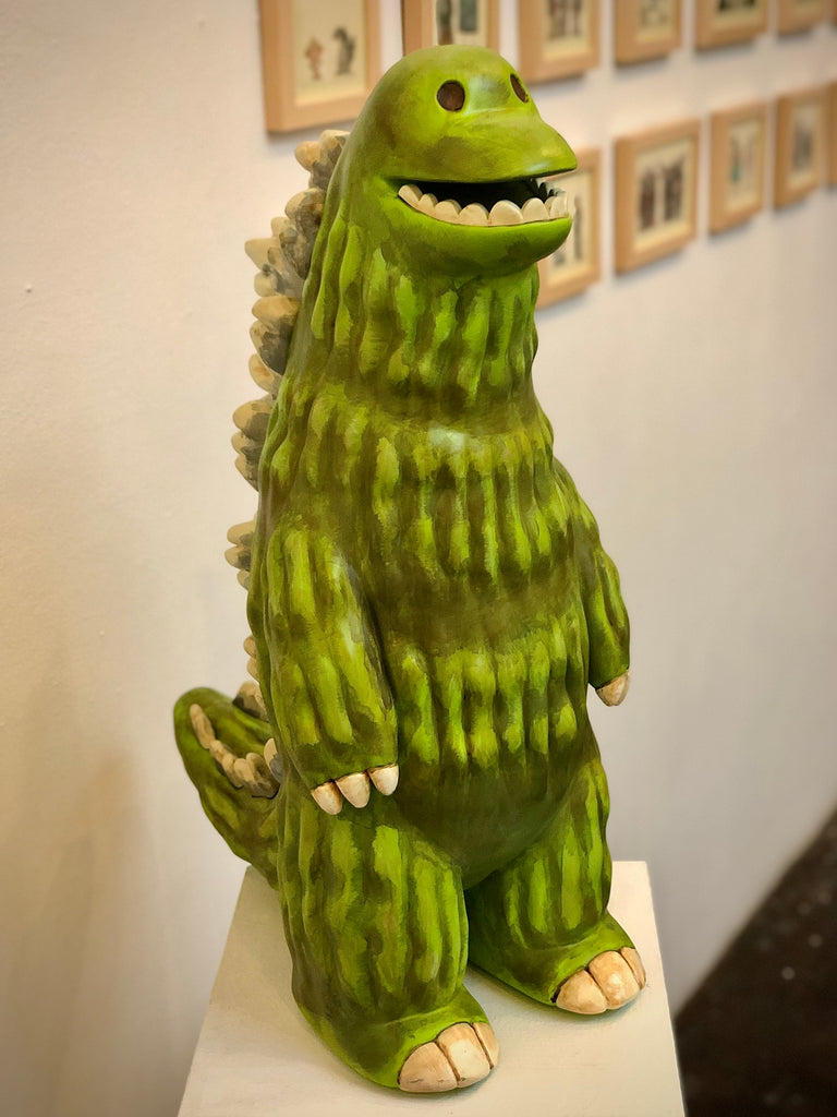 "Scott C. ""Godzilla"" Sculpture"