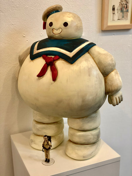 ".Scott C. ""Stay Puft"" Sculpture"
