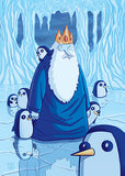 "Tom Valente ""Greetings from The Ice Kingdom"" Postcard Print"