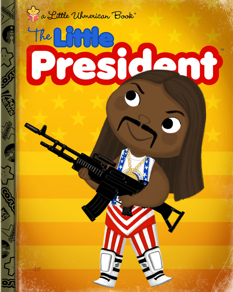 "Joey Spiotto ""The Little President"" Print"