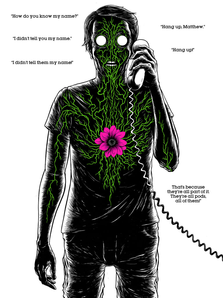 Friends of the Gallery: Alex Pardee / Edgar Wright print