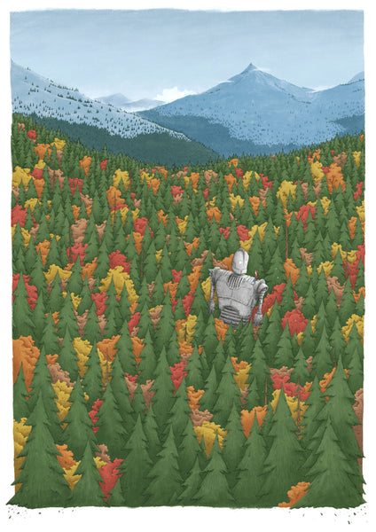 "Jacob Stack ""The Iron Giant"" Print"