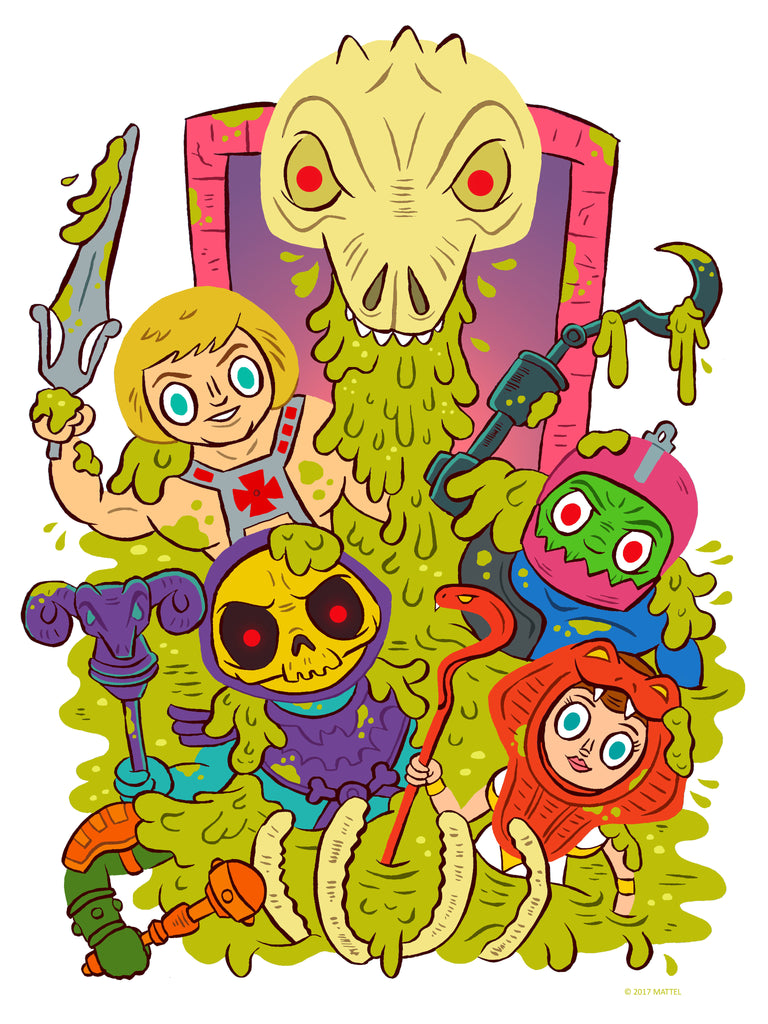 "Jellykoe ""Victims of the Slime Pit"" Print"