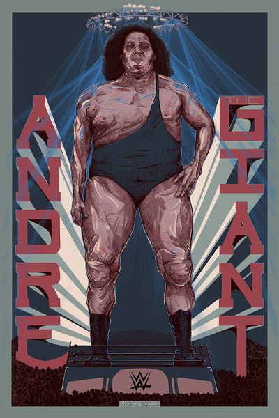 "Jake Rathkamp / The Graphite Club ""Andre"" Print"