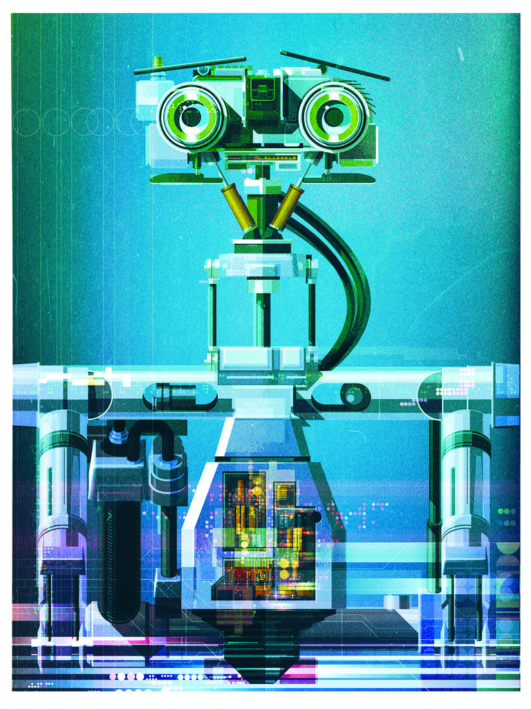 "James Gilleard ""Johnny 5"" Print"