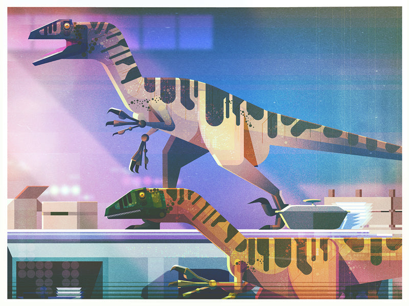 "James Gilleard ""In the Kitchen"" Print"