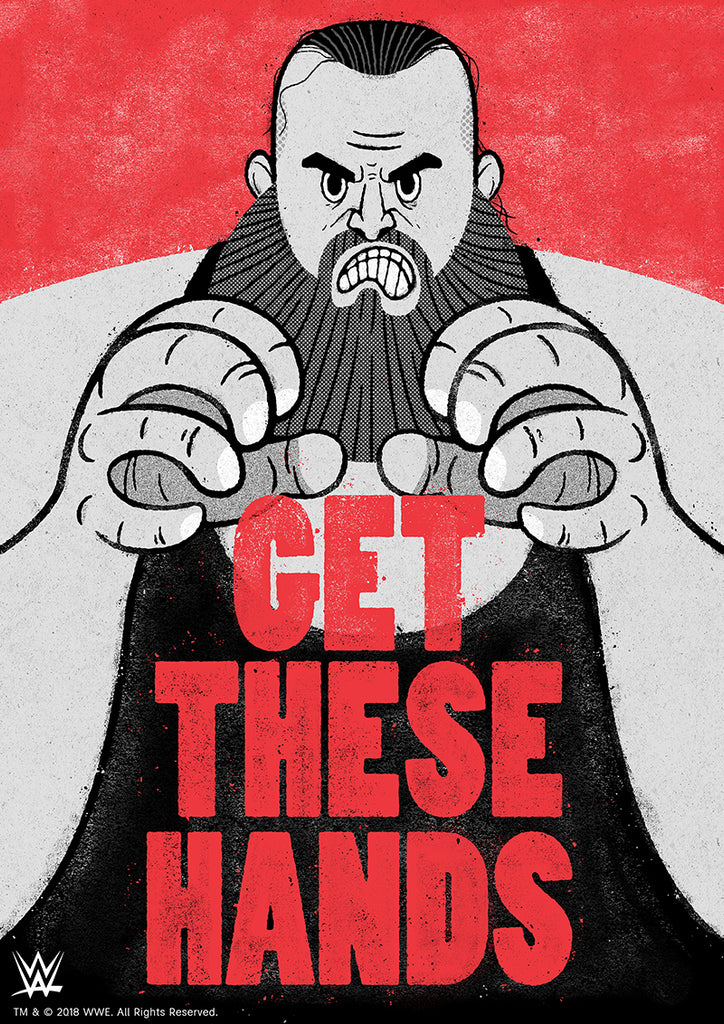 "James Loram ""Get These Hands"" Print"