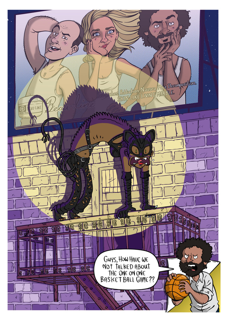 "James Stayte ""If you like cats, or Halle Berry, you're going to love this movie."" Print"