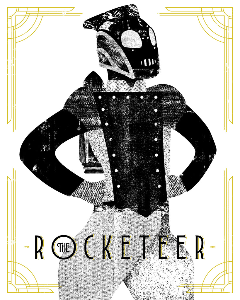 "Jason Johnson ""The Rocketeer 30th Anniversary"" Print"