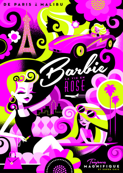 "Jeff Granito ""La Vie en Barbie"" Canvas Print"