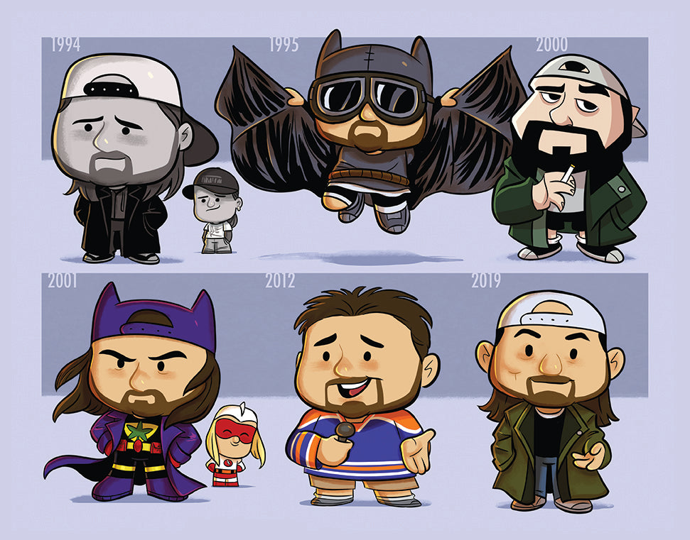 "Jeff Victor ""Evolution of Kevin Smith"" Print"