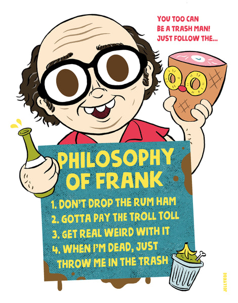 "Jellykoe ""Philosophy of Frank"" Print"